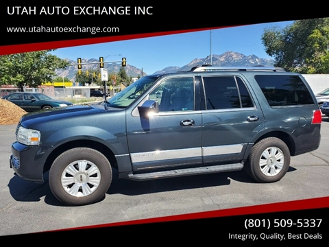 2009 Lincoln Navigator for sale at UTAH AUTO EXCHANGE INC in Midvale UT