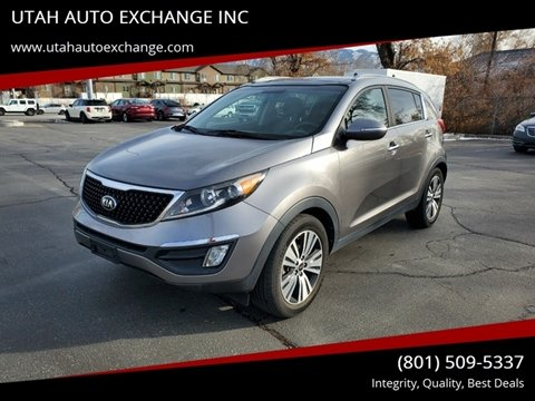 2016 Kia Sportage EX for sale at UTAH AUTO EXCHANGE INC in Midvale UT