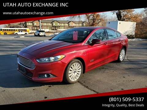 2014 Ford Fusion Energi SE for sale at UTAH AUTO EXCHANGE INC in Midvale UT