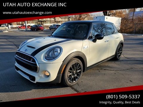 2015 MINI Hardtop 4 Door Cooper S for sale at UTAH AUTO EXCHANGE INC in Midvale UT