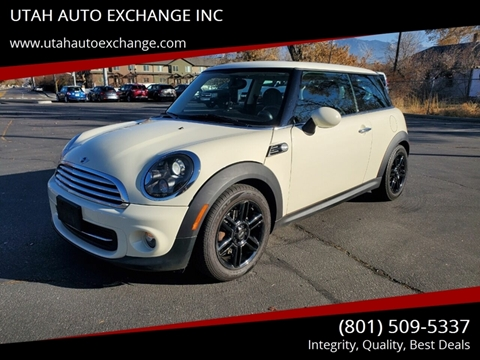 2012 MINI Cooper Hardtop for sale at UTAH AUTO EXCHANGE INC in Midvale UT
