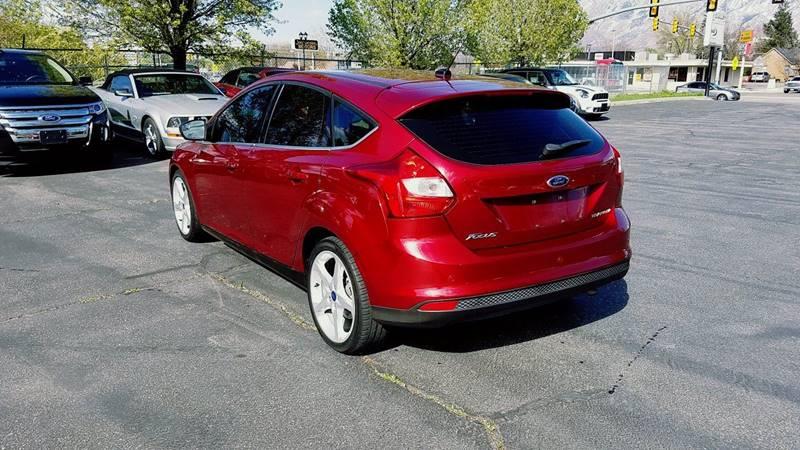 2013 Ford Focus Titanium 4dr Hatchback - Midvale UT