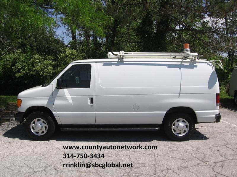2007 Ford E-Series Cargo for sale at County Auto Network in Ballwin MO