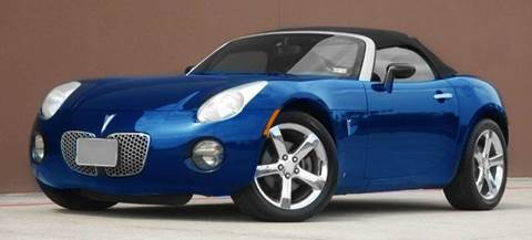 2008 Pontiac Solstice for sale at Houston Auto Credit in Houston TX