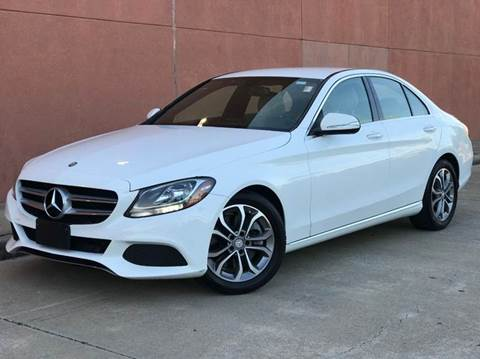 2015 Mercedes-Benz C-Class for sale at Houston Auto Credit in Houston TX