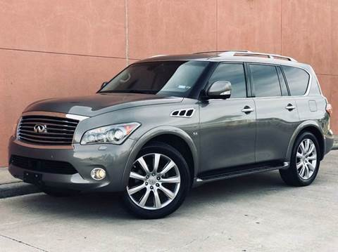2014 Infiniti QX80 for sale at Houston Auto Credit in Houston TX