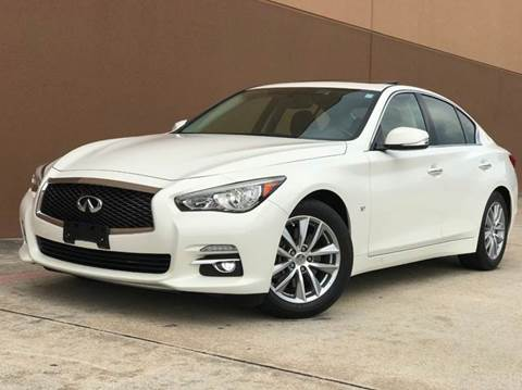 2015 Infiniti Q50 for sale at Houston Auto Credit in Houston TX