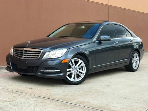 2013 Mercedes-Benz C-Class for sale at Houston Auto Credit in Houston TX