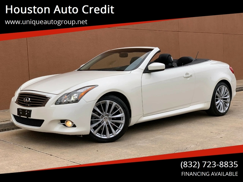 2015 Infiniti Q60 Convertible >> 2015 Infiniti Q60 Convertible Sport 2dr Convertible In Houston Tx