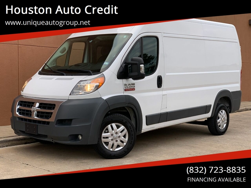 fed2161bf1 2017 Ram Promaster Cargo 1500 136 WB 3dr High Roof Cargo Van In Houston TX  - Houston Auto Credit