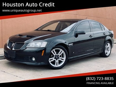 2008 Pontiac G8 for sale in Houston, TX