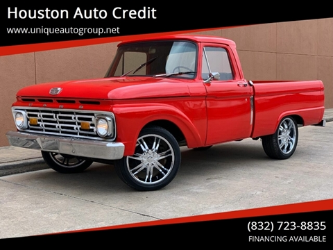 1966 Ford F-100 for sale in Houston, TX
