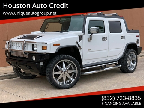 Hummer H2 Sut For Sale >> Hummer H2 Sut For Sale In Houston Tx Houston Auto Credit