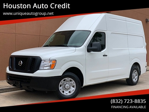 2018 Nissan NV Cargo for sale in Houston, TX