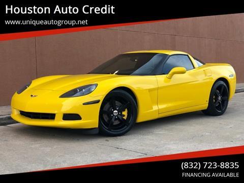 2009 Chevrolet Corvette for sale in Houston, TX