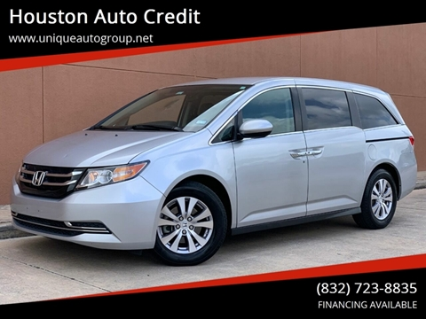2015 Honda Odyssey for sale in Houston, TX