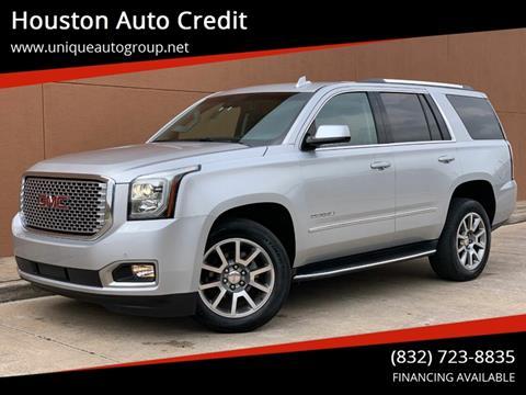 2017 GMC Yukon for sale in Houston, TX