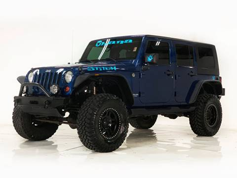 2010 Jeep Wrangler Unlimited for sale in Houston, TX