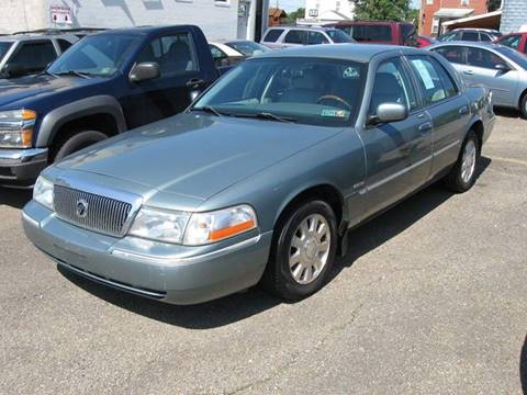 2005 Mercury Grand Marquis for sale at Arnold Motor Company in Houston PA