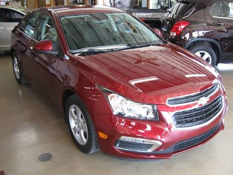 2015 Chevrolet Cruze for sale at Arnold Motor Company in Houston PA
