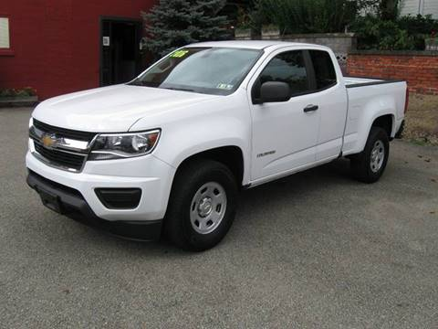 2016 Chevrolet Colorado for sale at Arnold Motor Company in Houston PA