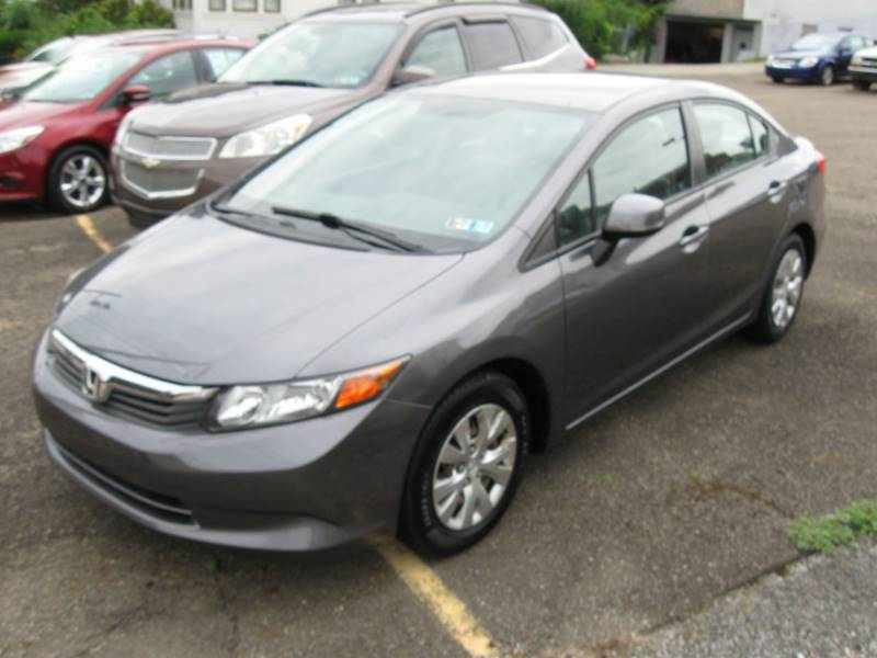 2012 Honda Civic For Sale At Arnold Motor Company In Houston PA