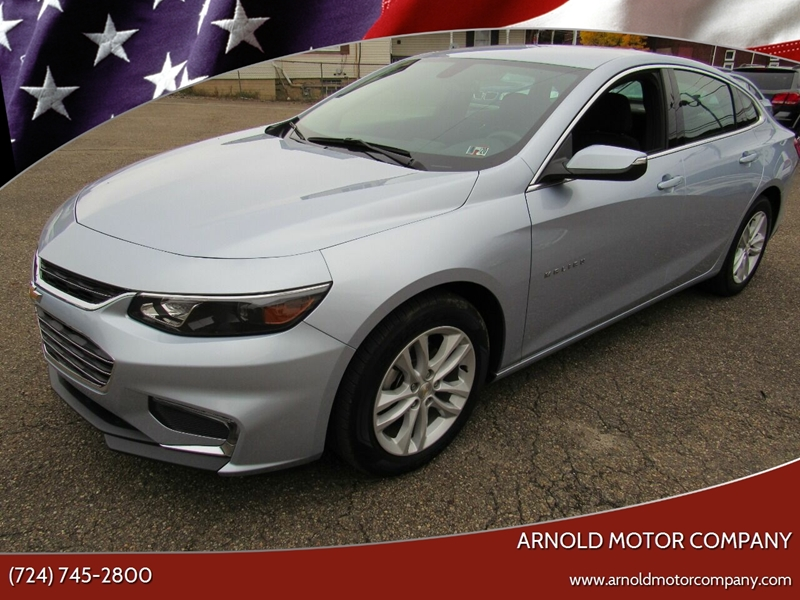 2018 Chevrolet Malibu for sale at Arnold Motor Company in Houston PA