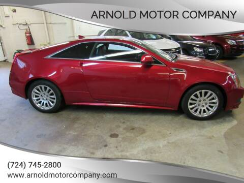 2013 Cadillac CTS for sale at Arnold Motor Company in Houston PA