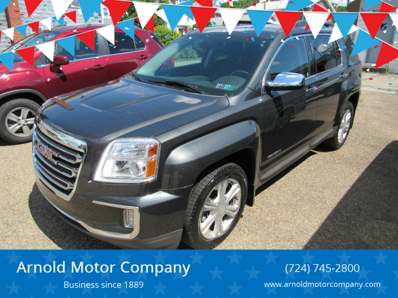 2017 GMC Terrain for sale at Arnold Motor Company in Houston PA