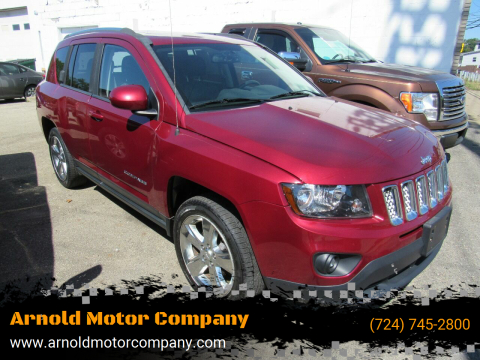 2014 Jeep Compass for sale at Arnold Motor Company in Houston PA