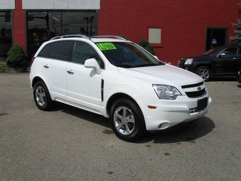 2012 Chevrolet Captiva Sport for sale at Arnold Motor Company in Houston PA