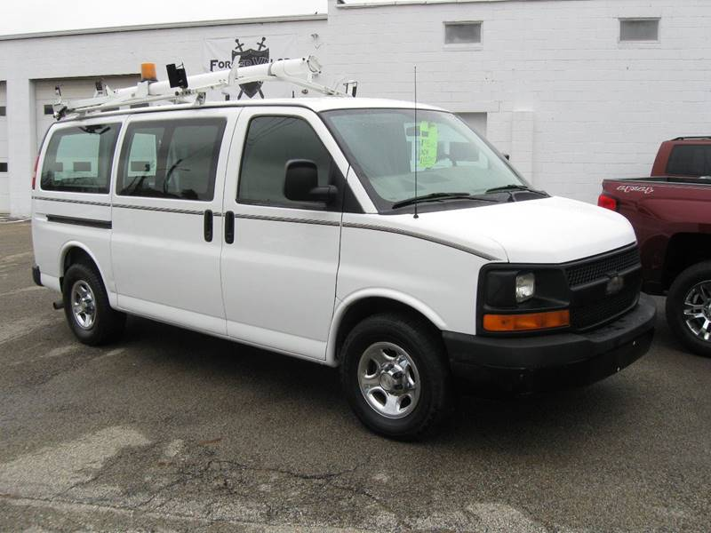 2007 Chevrolet Express Cargo for sale at Arnold Motor Company in Houston PA