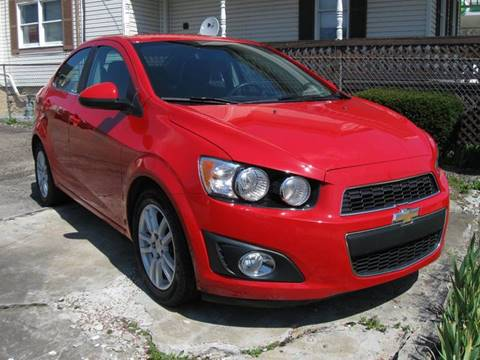 2012 Chevrolet Sonic for sale at Arnold Motor Company in Houston PA