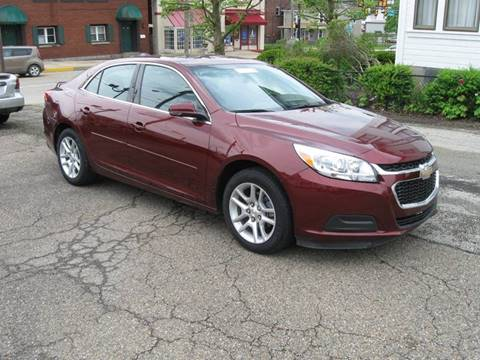 2015 Chevrolet Malibu for sale at Arnold Motor Company in Houston PA
