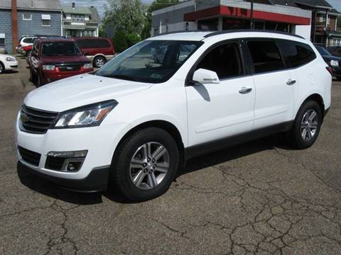 2016 Chevrolet Traverse for sale at Arnold Motor Company in Houston PA