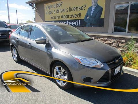 2013 Ford Focus for sale in West Valley City, UT