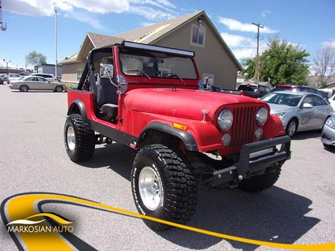 1984 Jeep CJ-7 for sale in West Valley City, UT