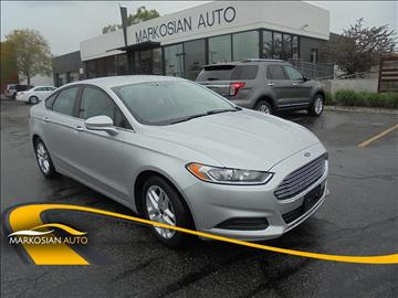 2015 Ford Fusion for sale in West Valley City, UT