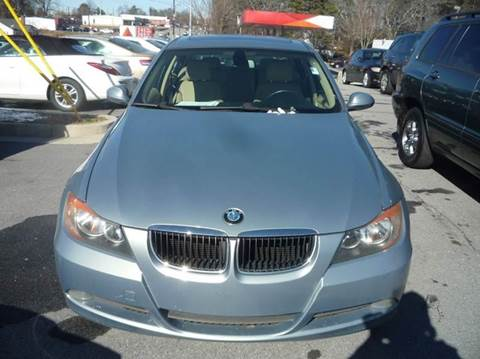 2007 BMW 3 Series for sale at Credit Cars LLC in Lawrenceville GA