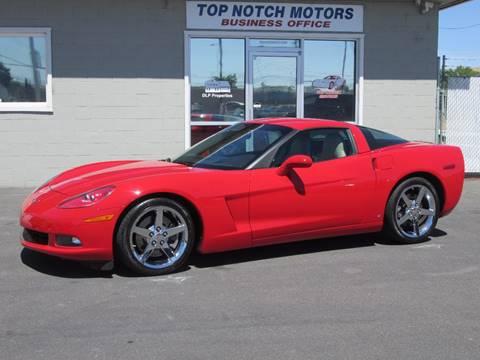 2007 Chevrolet Corvette for sale at Top Notch Motors in Yakima WA