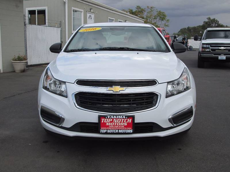 2016 chevrolet cruze limited ls auto 4dr sedan w 1sb in yakima wa top notch motors. Black Bedroom Furniture Sets. Home Design Ideas