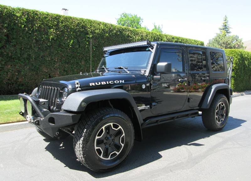 2007 Jeep Wrangler Unlimited 4x4 Rubicon 4dr SUV In Yakima