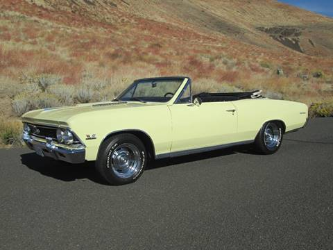 1966 Chevrolet Chevelle for sale at Top Notch Motors in Yakima WA