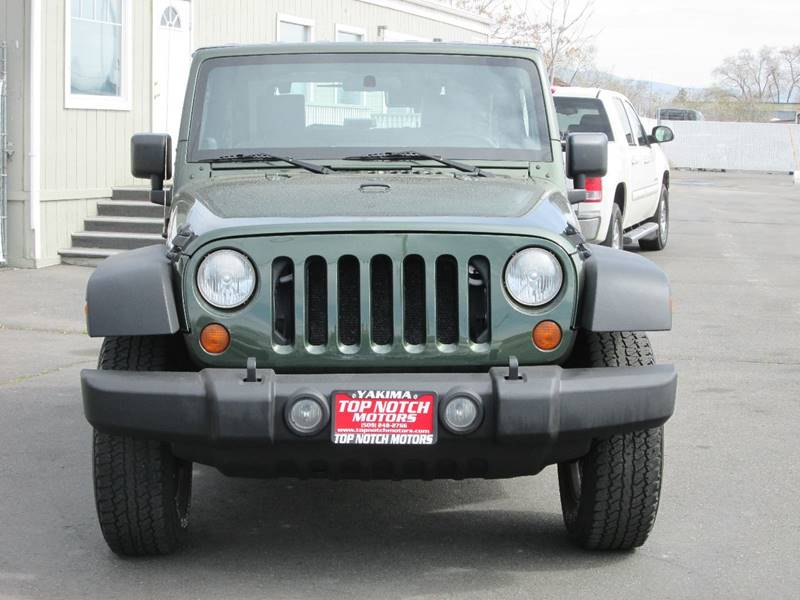 2008 jeep wrangler 4x4 x 2dr suv in yakima wa top notch for 2008 jeep wrangler motor