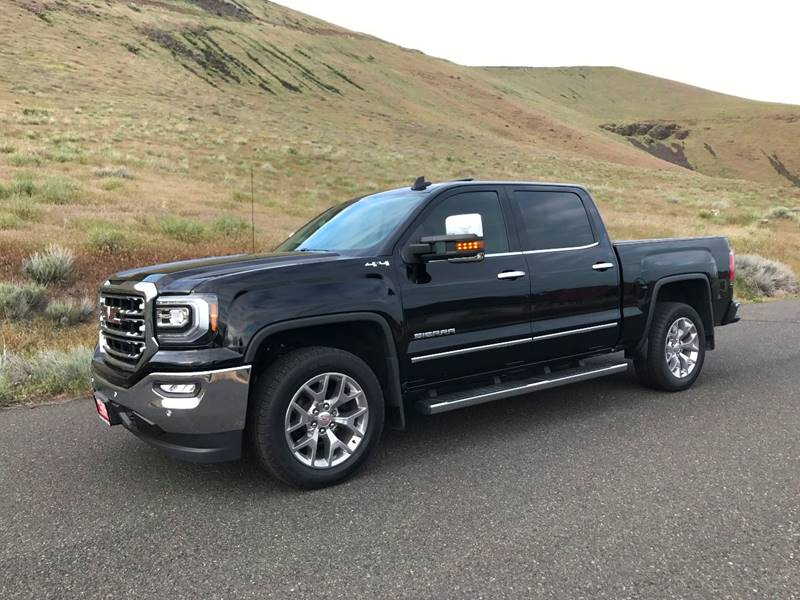 2017 gmc sierra 1500 4x4 slt 4dr crew cab 5 8 ft sb in yakima wa top notch motors. Black Bedroom Furniture Sets. Home Design Ideas