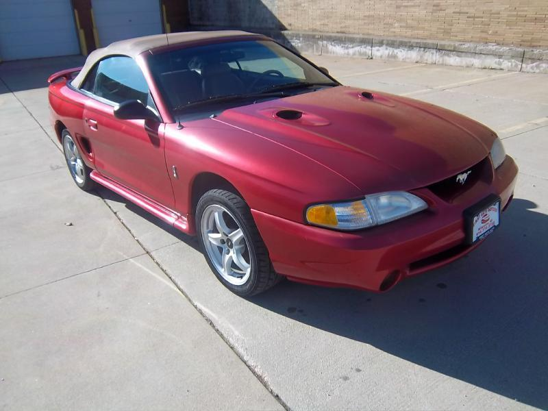 1998 Ford Mustang SVT Cobra 2dr Convertible - Milwaukee WI