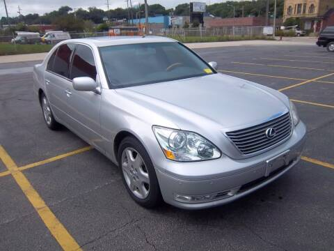 2004 Lexus LS 430 for sale at First Rate Motors in Milwaukee WI