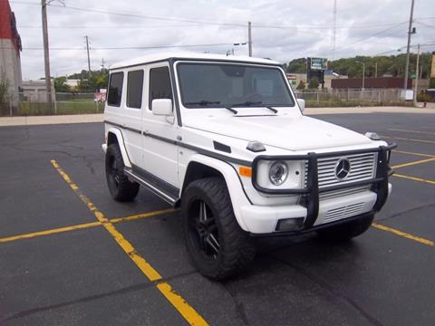 2002 Mercedes-Benz G-Class for sale at First Rate Motors in Milwaukee WI