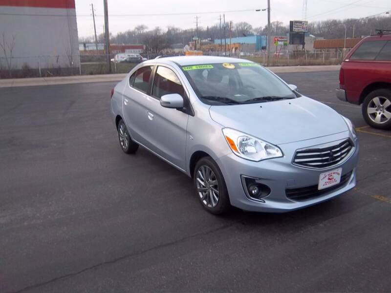 2018 Mitsubishi Mirage G4 for sale at First Rate Motors in Milwaukee WI