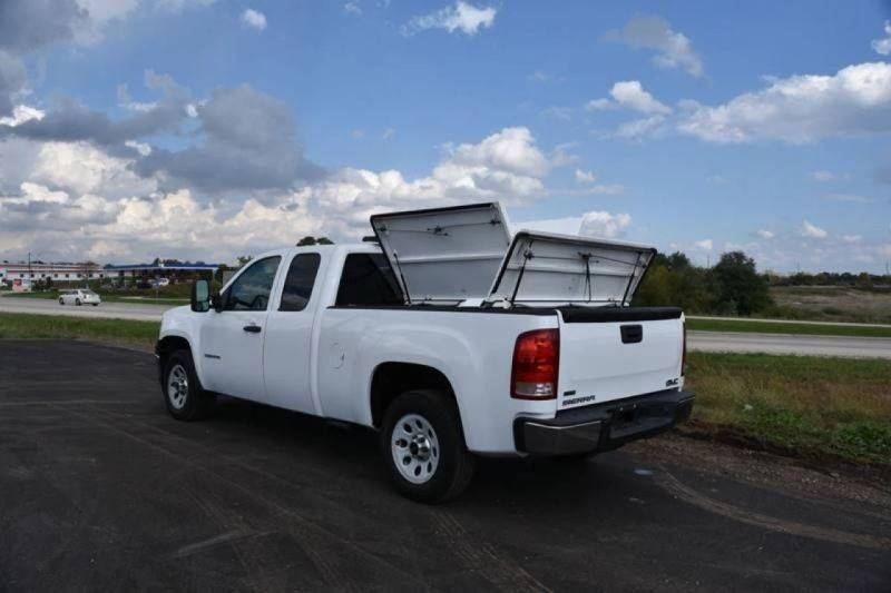 2012 gmc sierra 1500 extended cab work truck in crystal lake il signature truck center inc. Black Bedroom Furniture Sets. Home Design Ideas